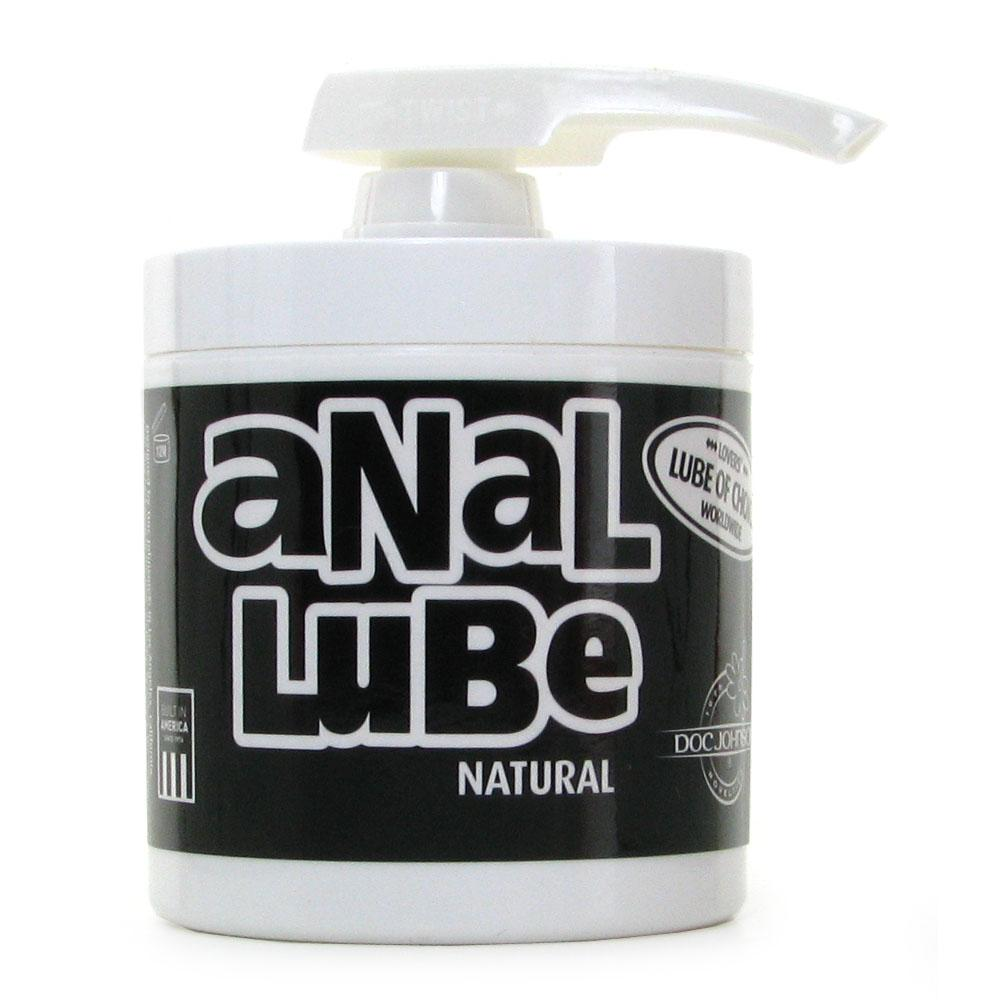 Anal Lube 4.75oz Pump Jar in Original
