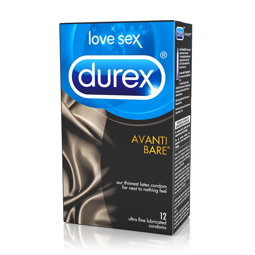 Avanti Bare Latex Condoms in 12 Pack - Sex Toys Vancouver Same Day Delivery
