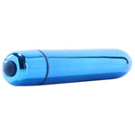 Back to the Basics Rocket Bullet Vibe in Blue - Sex Toys Vancouver Same Day Delivery