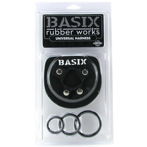 Basix Universal Harness in OS - Sex Toys Vancouver Same Day Delivery