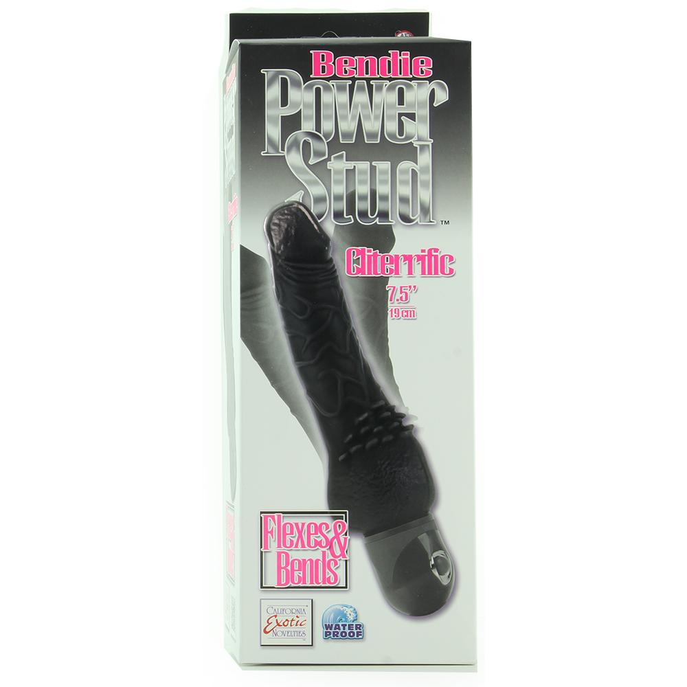 Bendie Cliterrific Vibe in Black - Sex Toys Vancouver Same Day Delivery