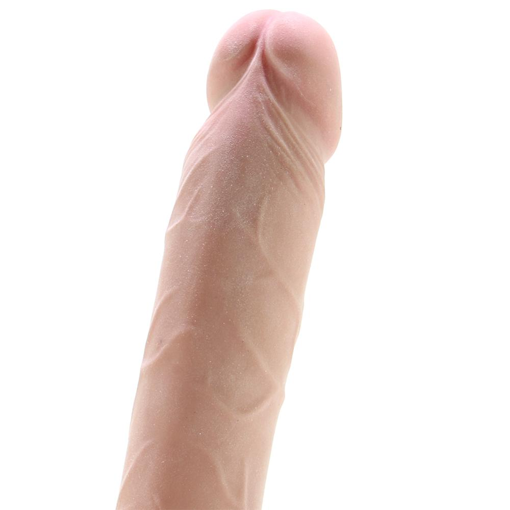 "RealCocks 8"" Self Lubricating Dildo in Flesh - Sex Toys Vancouver Same Day Delivery"