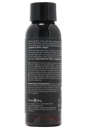 Edible Massage Oil 2oz/60ml in Mango - Sex Toys Vancouver Same Day Delivery