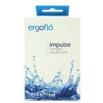 Ergoflo Impulse Compact Anal Douche in Black - Sex Toys Vancouver Same Day Delivery