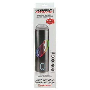Extreme Rechargeable Roto-Bator Mouth - Sex Toys Vancouver Same Day Delivery