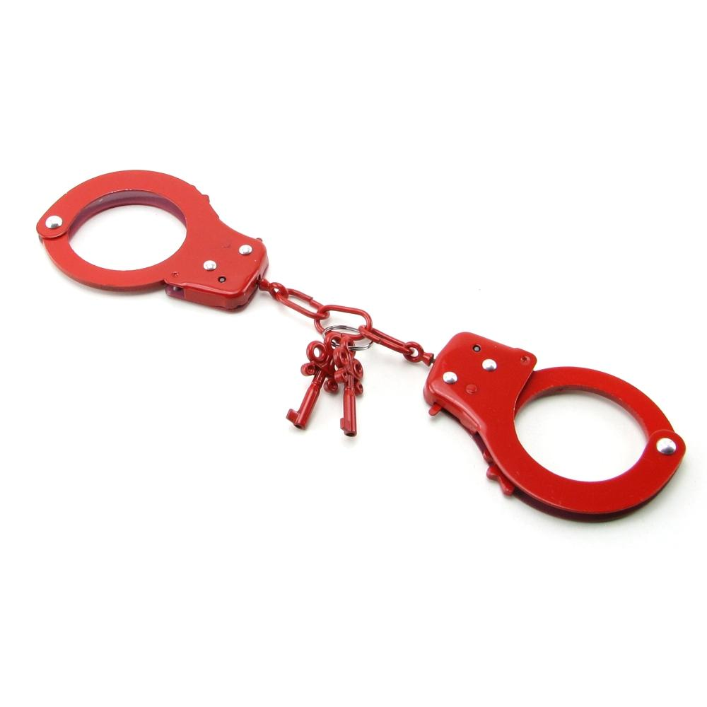 Fetish Fantasy Designer Cuffs in Red - Sex Toys Vancouver Same Day Delivery