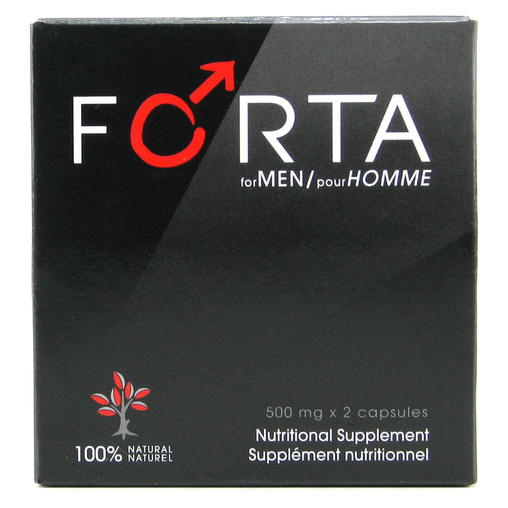 Forta for Men Enhancing Supplement 2 Pack - Sex Toys Vancouver Same Day Delivery