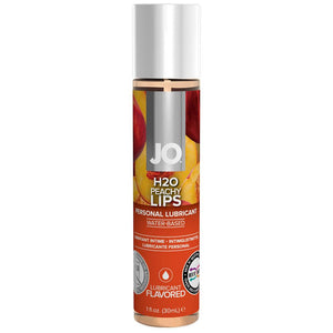 H2O Flavored Lube 1oz/30ml in Peachy Lips - Sex Toys Vancouver Same Day Delivery