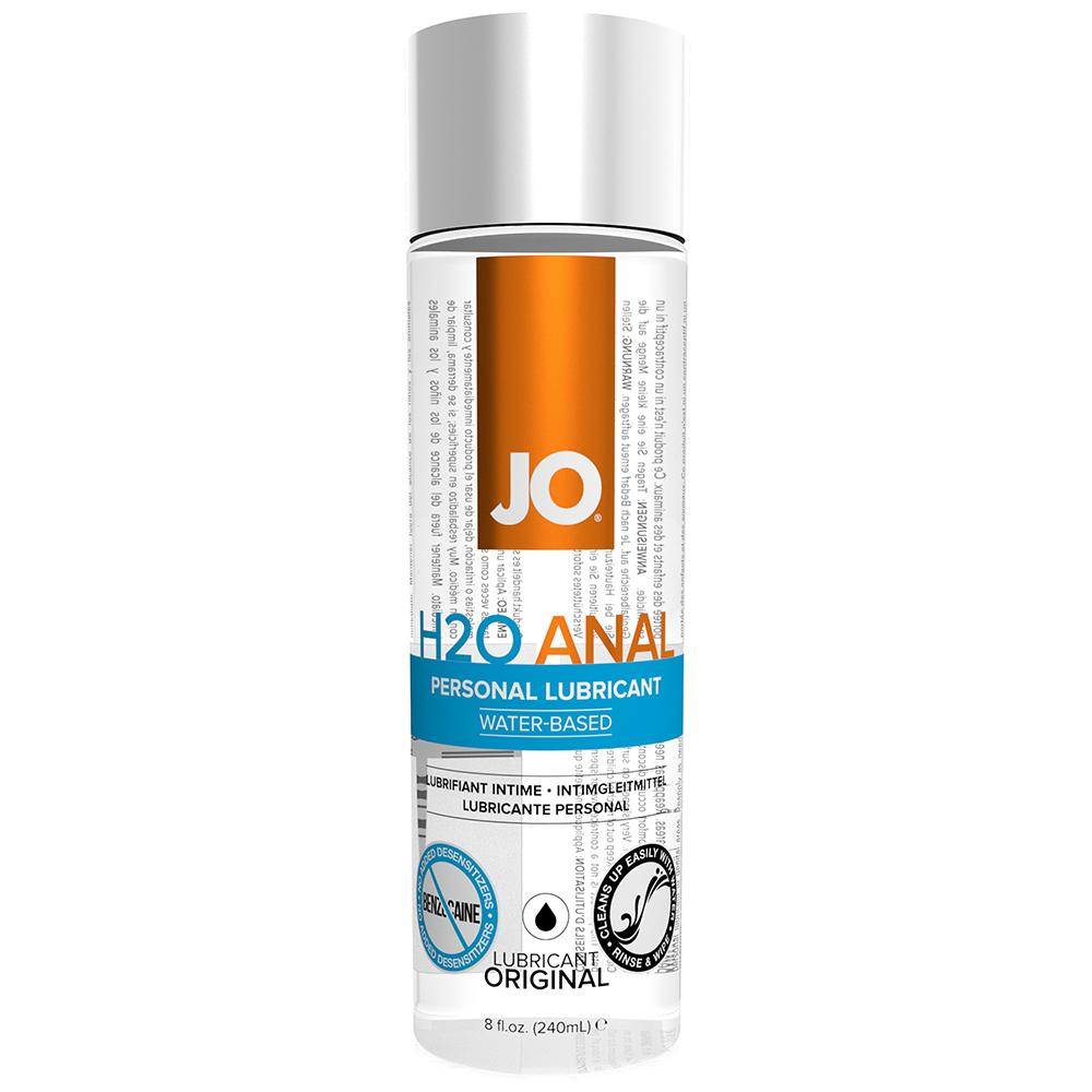 H2O Personal Anal Lubricant in 8oz/237ml