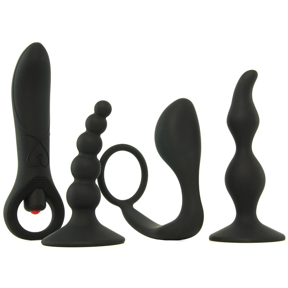 Intro to Prostate Kit in Black - Sex Toys Vancouver Same Day Delivery