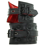 Kink Leather Ankle Restraints in Black - Sex Toys Vancouver Same Day Delivery