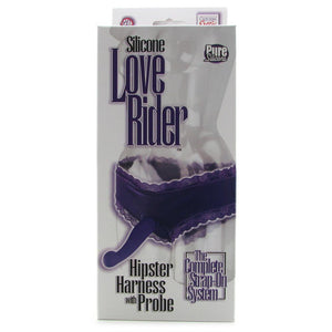 Love Rider Hipster Harness with Silicone Probe in Purple - Sex Toys Vancouver Same Day Delivery