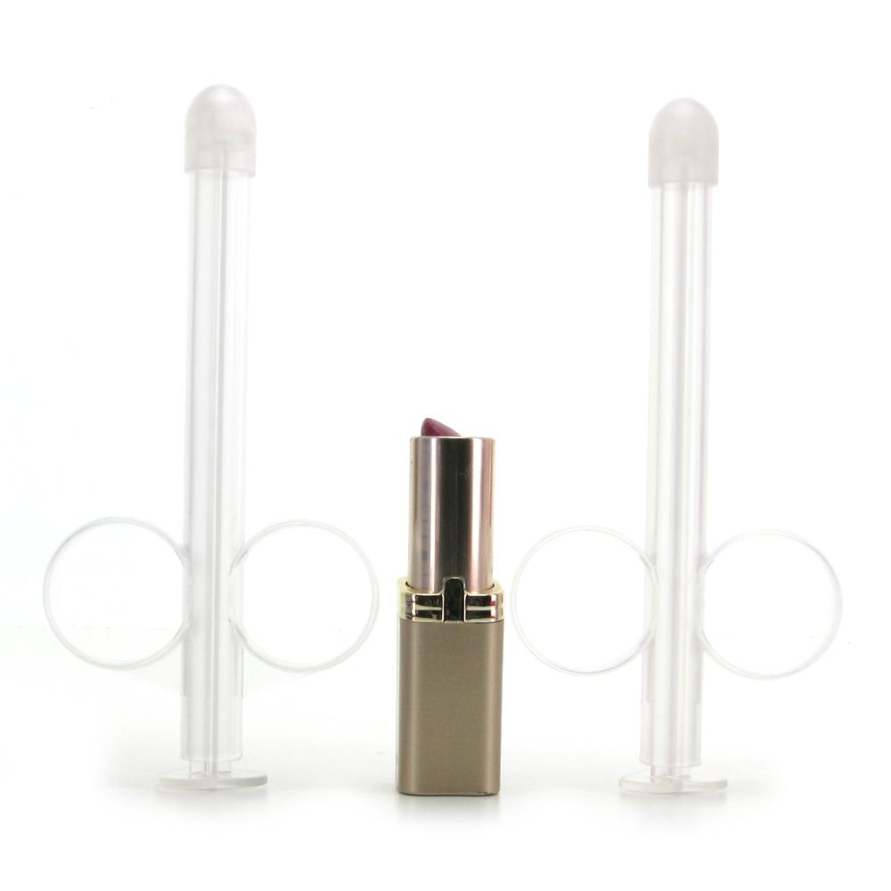 Lube Tube Applicator 2 Pack in Clear - Sex Toys Vancouver Same Day Delivery