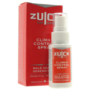 Zuice for Men Climax Control Spray 15ml. - Sex Toys Vancouver Same Day Delivery