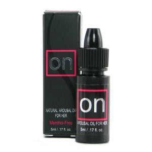 ON Natural Arousal Oil for Her in 0.17oz / 5ml - Sex Toys Vancouver Same Day Delivery