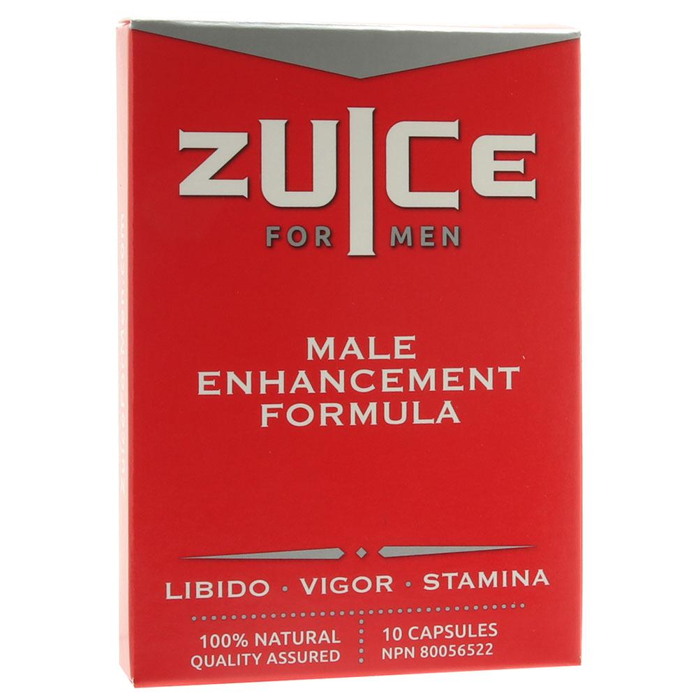 Zuice for Men Male Enhancement Formula 10-pack - Sex Toys Vancouver Same Day Delivery