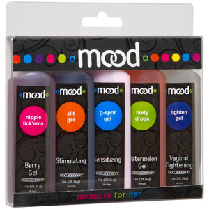 Mood Pleasure for Her 1oz/28.34ml in 5 Pack - Sex Toys Vancouver Same Day Delivery