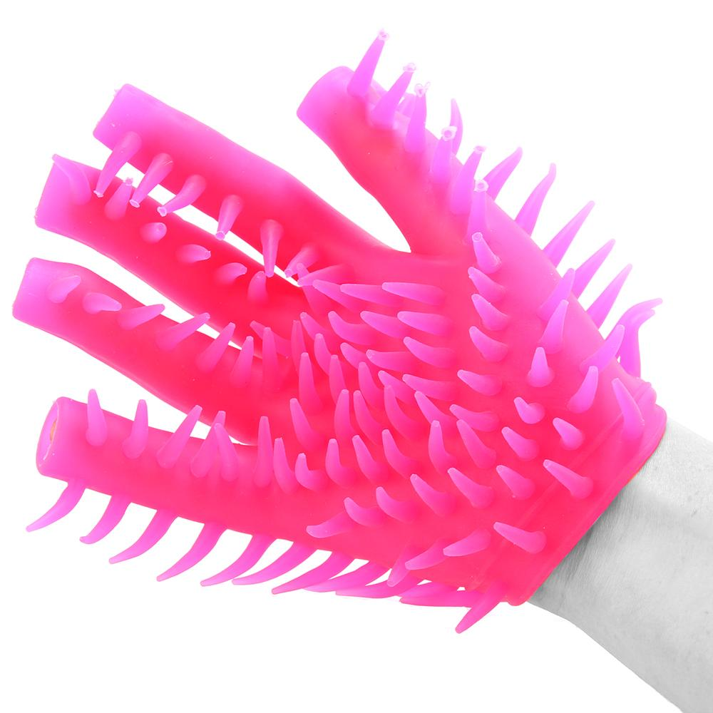 Neon Luv Glove in Pink - Sex Toys Vancouver Same Day Delivery