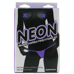 Neon Vibrating Panty & Pasties Set in Purple - Sex Toys Vancouver Same Day Delivery