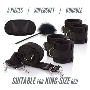 New 5-Piece Set Bed Restraints Kit System
