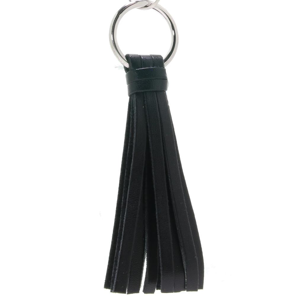 Playful Tassels Nipple Clamps in Black - Sex Toys Vancouver Same Day Delivery