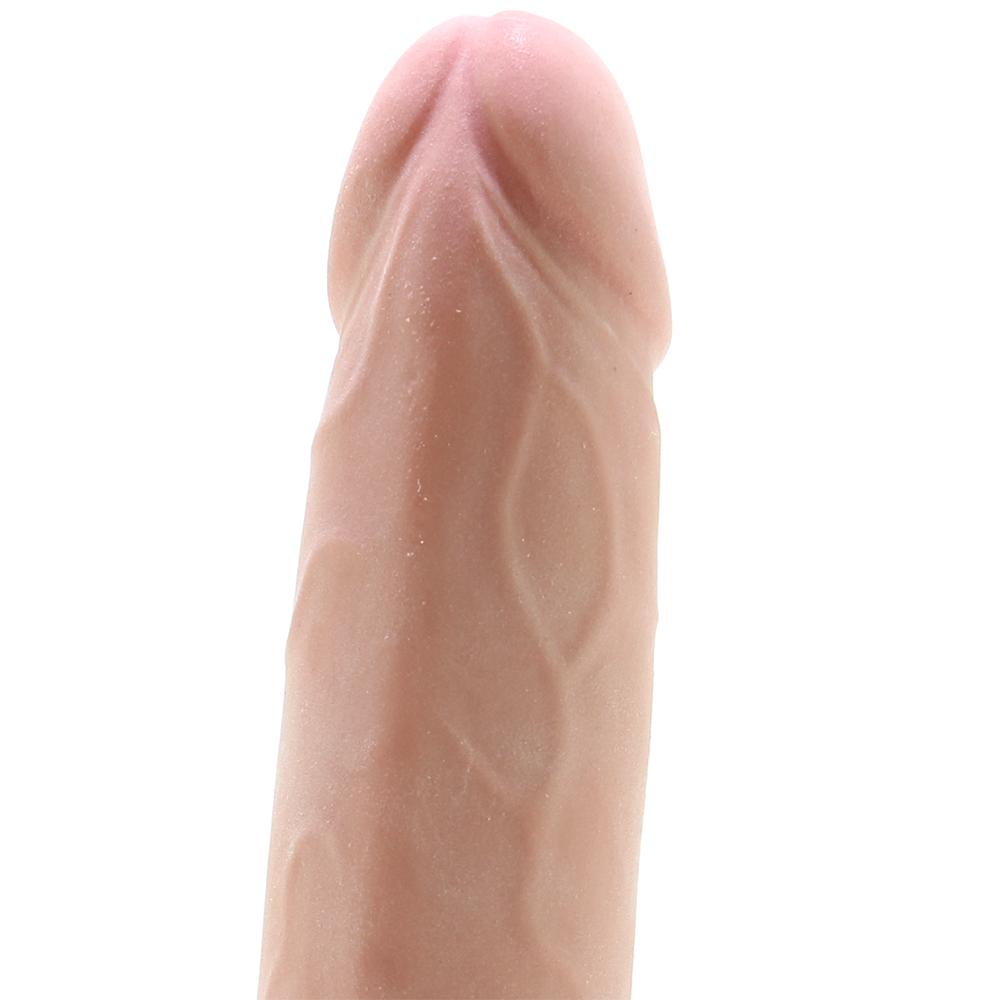 "RealCocks 8"" Thick Self Lubricating Dildo in Flesh - Sex Toys Vancouver Same Day Delivery"