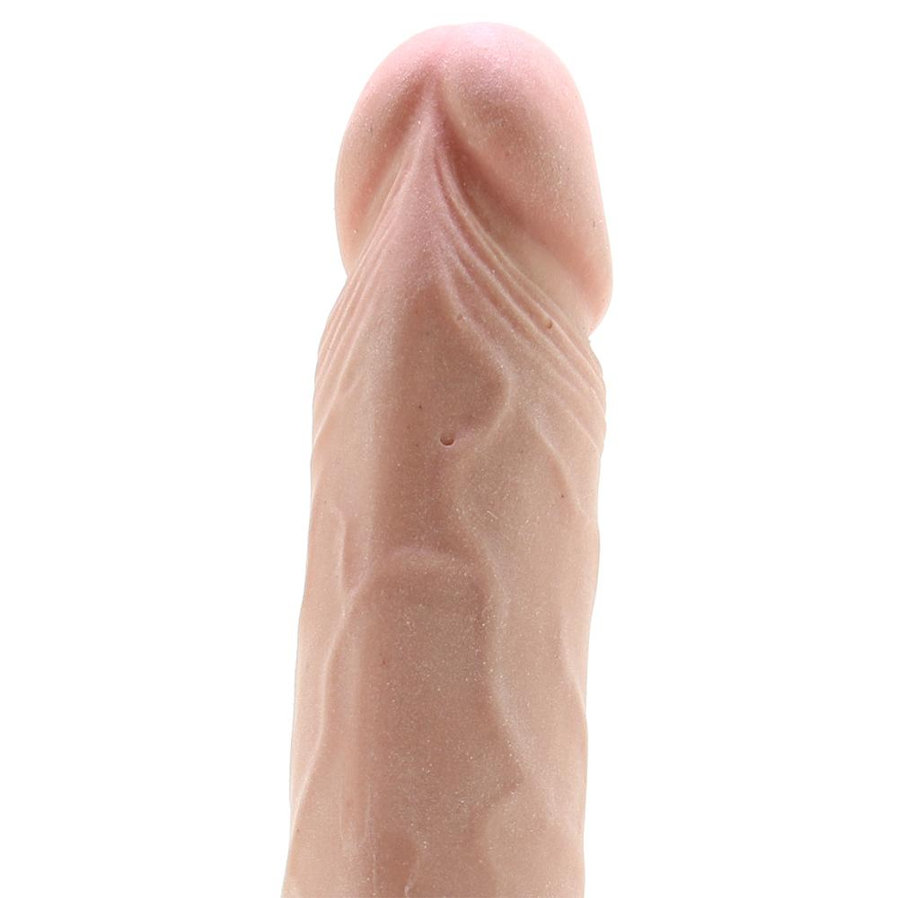 "RealCocks 9"" Self Lubricating Dildo in Flesh - Sex Toys Vancouver Same Day Delivery"