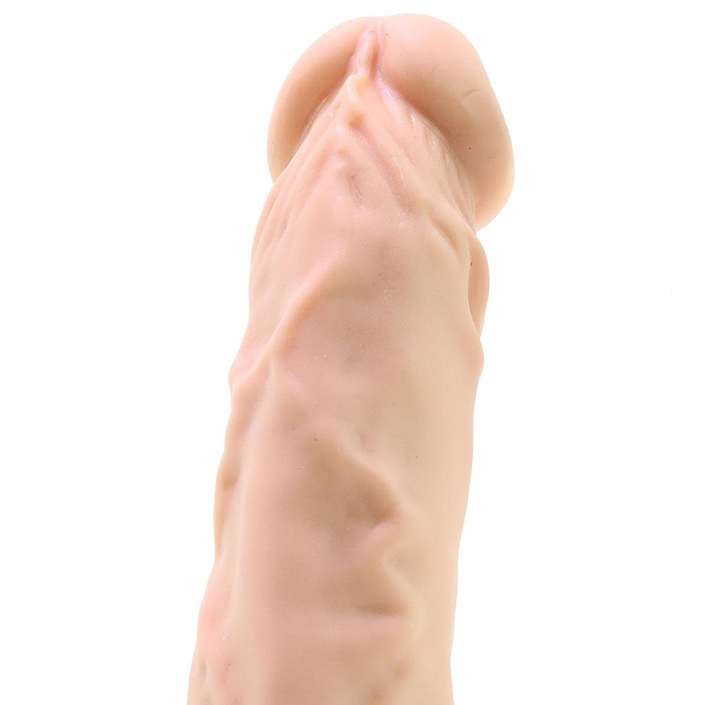 "RealRock 9"" Realistic Dildo with Strap On"