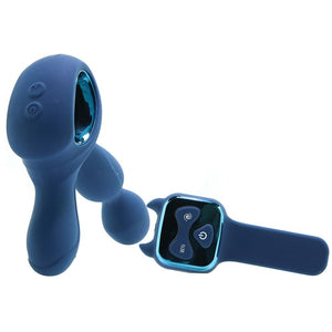 Renegade Orbit Rotating Prostate Massager in Blue - Sex Toys Vancouver Same Day Delivery