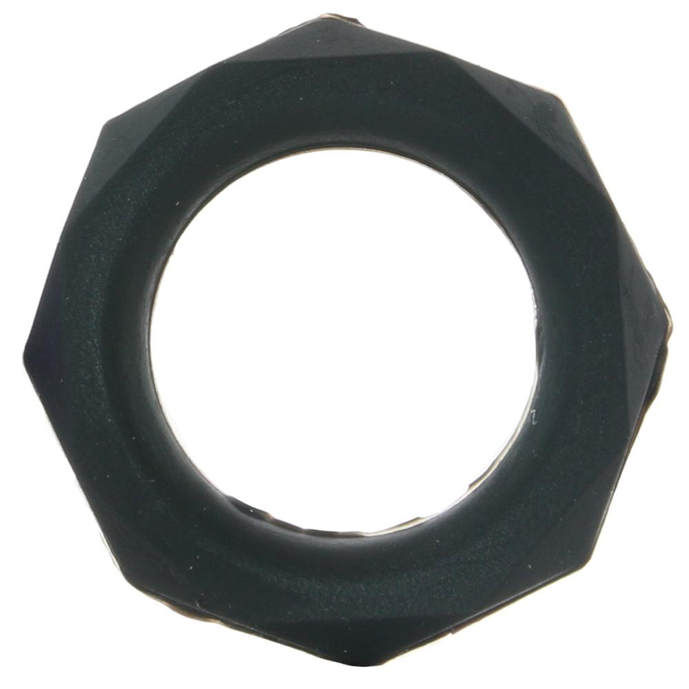 Silicone Designer Stamina Cock Ring 3 pack in Black - Sex Toys Vancouver Same Day Delivery