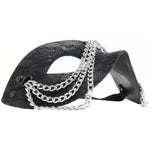 Sincerely Chained Lace Mask in Black - Sex Toys Vancouver Same Day Delivery