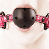 Sinful Ball Gag in Pink - Sex Toys Vancouver Same Day Delivery