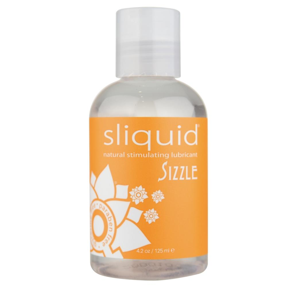 Sizzle Natural Stimulating Lubricant in 4.2oz/125ml - Sex Toys Vancouver Same Day Delivery