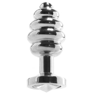 Stainless Steel Threaded Butt Plug in Small - Sex Toys Vancouver Same Day Delivery