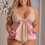 Sweetheart On Parade Babydoll Set - Sex Toys Vancouver Same Day Delivery