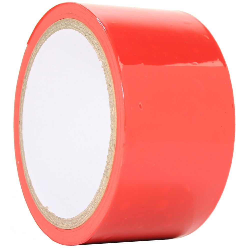 Temptasia 60 Foot Bondage Tape in Red