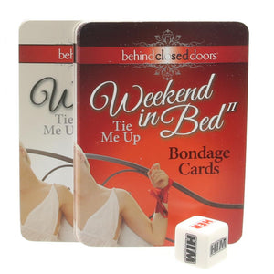 Weekend in Bed 2 Tie Me Up Game Kit - Sex Toys Vancouver Same Day Delivery