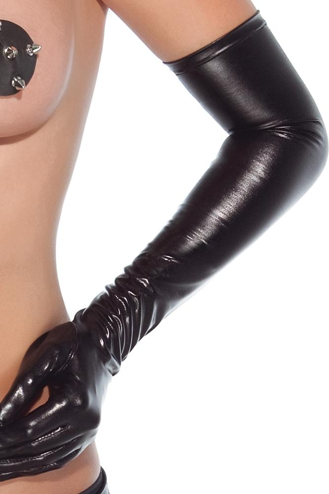 Wet Look Gloves - Sex Toys Vancouver Same Day Delivery