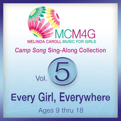 MCM4G Vol. 5 - Camp Songs for Every Girl, Everywhere - Album