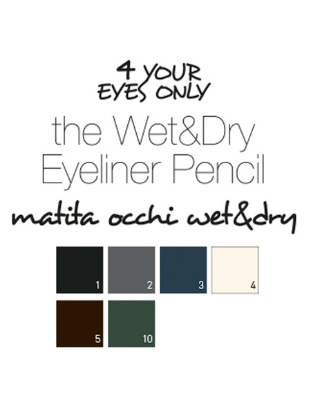 Wet & Dry Eyeliner Pencil - Purple
