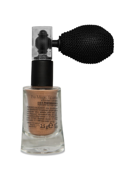 Magic Sparkle Bronze Glitter Illuminates Face, Body & Hair