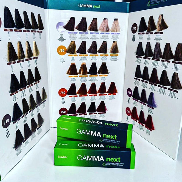 Gamma NEXT Ammonia & PPD Free Hair Color Cream - 4/00+ Intense Chestnut