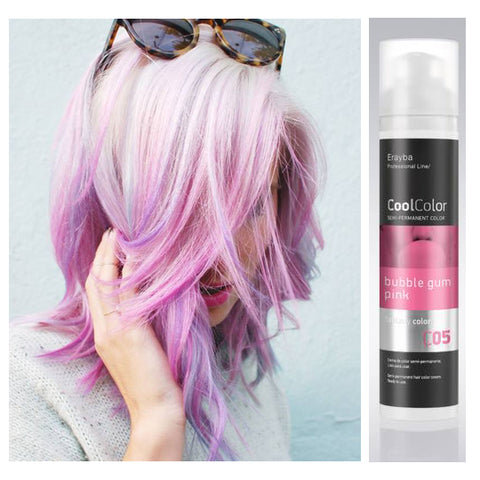 Cool Color Semi Permanent Color Cream C05 Bubblegum Pink
