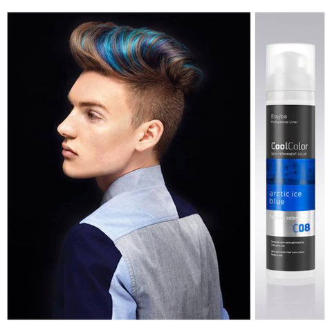 Cool Color Semi Permanent Color Cream C08 Arctic Ice Blue