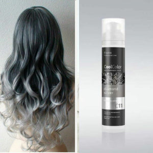 Cool Color Semi Permanent Color Cream C11 Diamond Silver