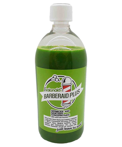 Barberaid PLUS Salon Disinfectant Soak Solution 1000ml