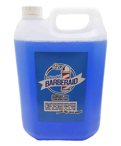Barberaid 5000ml Jerry Sanitiser Solution - Dip & Wipe