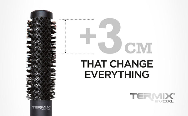 Termix Evolution XL Brush 17mm - 3cm LONGER