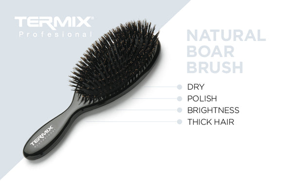 Termix Professional Pneumatic Natural Boar Brush - Small