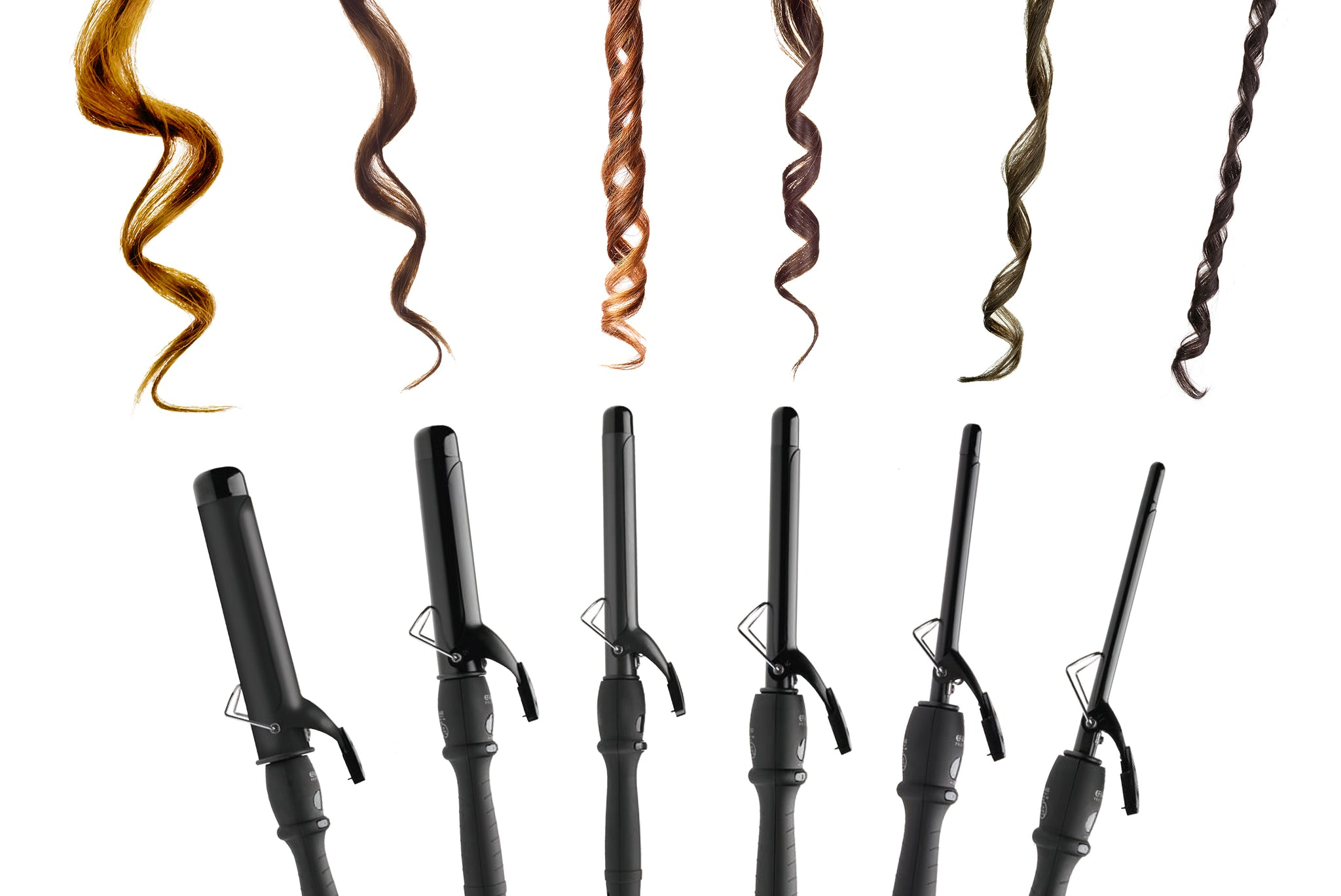 Curls Up Curling Tong- 6 sizes